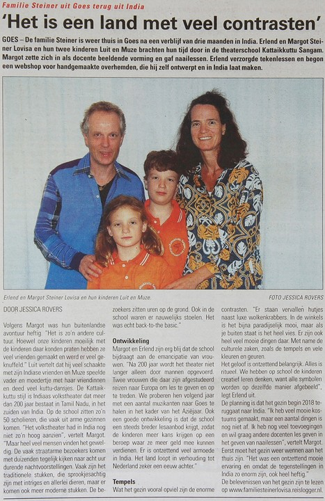 2016-09-28 Beverlandse Bode Familie Steiner lovisa