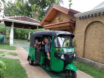 Tuktuk for four