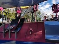 Spelen in openbare speeltuin South Bank Brisbane