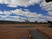 Helikoptervlucht, kings canyon