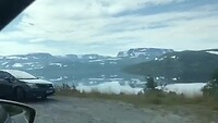 Onderweg van Myrkdalen naar Rjukan