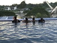 Lekker zwembad bij ons hotelletje
