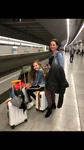 vliegveld en metro