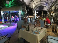 Live music at the restaurant