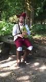 keltische kabouter in t bos