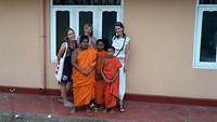 Ronleiding in het leven van de monks
