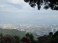 Uitzicht over Penang