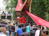 Traditionele Toraja Begrafenis