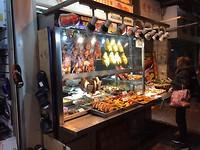 Raam verkoop van vlees