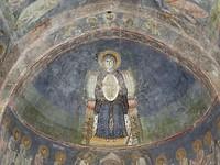 Fresco in de koepel