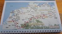 Route van Zaltbommel tot Berlin