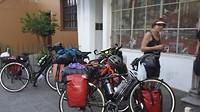 Op de eerste overnachtingsplaats in Salta van AirBnB waar we vier nachten blijven.