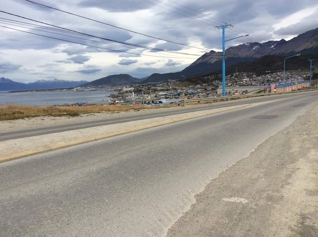 Aankomst in Ushuaia