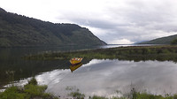 7-1-2018 De lagune waaraan Puyuhuapi ligt. 20180107_202203