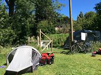 10-1-2018 El Camping in Coihayque. IMG_5438