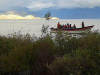 16-1-2018 Vanuit onze Cabana aan het Lago General Carrera in Puerto Tranquilo. 20180116_194604