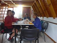 19-2-2018  In het huisje op de camping in Tolhuin.    P1060211
