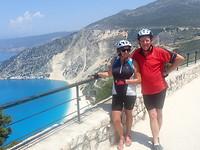 Wij boven Myrtos Bay