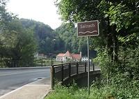 De grensovergang naar Oostenrijk