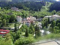 Bad Gastein met zijn hoogteverschil