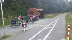 Pff, de camping bestaat niet meer...dan maar terug naar Monschau