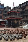 Bhaktapur, the old city (Pottery Square)