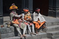 Pashupatinath, Saddhu's (holy men)