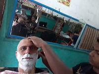 The perfect shave after a week of hard work