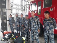 Training Day 4: Armed Police Force participated