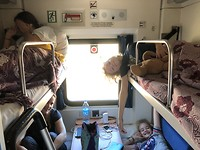 On the way to Uzbekistan