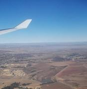 Landing in Joburg