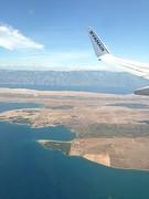 Vliegtuig naar Kroatie