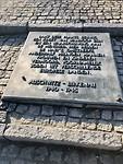 Auschwitz II-Birkenau plaquette