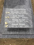 gedenksteen op het graf van mijn moeder