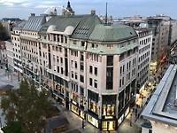 Boedapest vanaf de rooftop bar