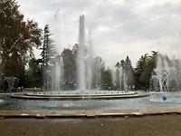 Muzikale fontein op Margaretha eiland