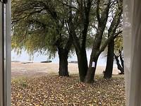 Op het strand aan de Donau