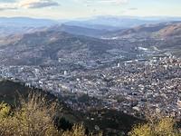 Uitzicht op de stad Sarajevo
