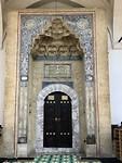 Entree van de moskee