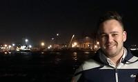 Simon op de Ferry