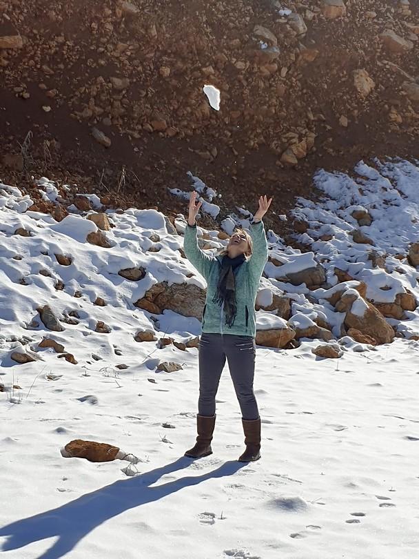 Zitten opeens in de sneeuw
