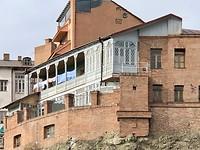 Langs de rivier de Mtkvari