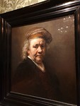 Zelfportret Rembrandt hangt in het Mauritshuis