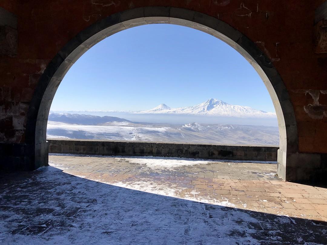 Onderweg vanuit Yerevan naar Garni