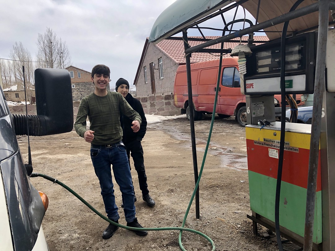 Diesel tanken