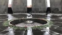 Memorial bij het genocide museum