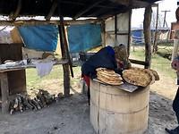 Onderweg stalletje met brood