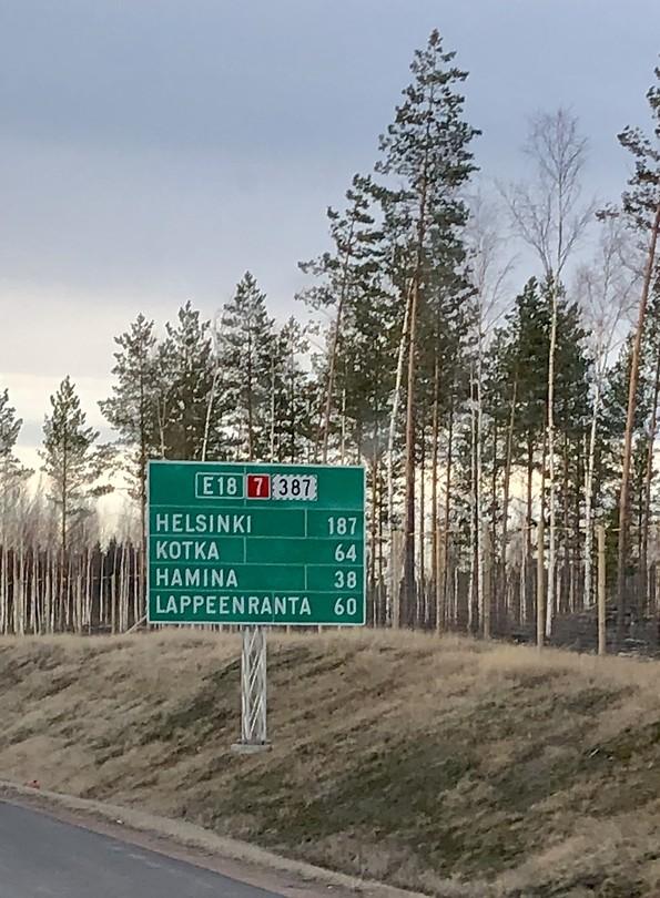 Op weg naar Helsinki