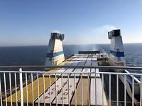 De Ferry van Helsinki naar Travemunde