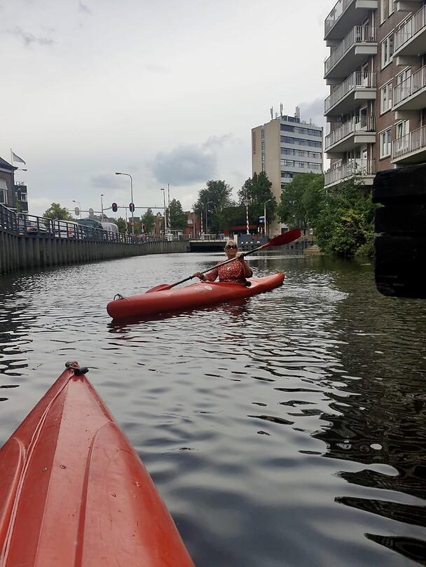 Kanotocht door Groningen